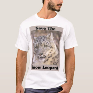 Save the Snow Leopard T-Shirt