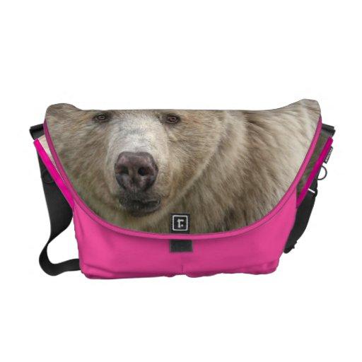 Save the Spirit Bear Messenger Bags