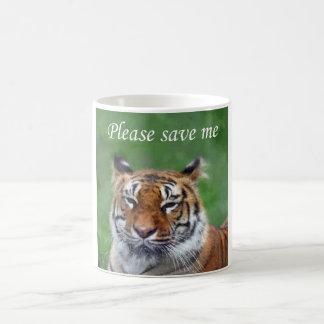 Save the Tiger Coffee Mug