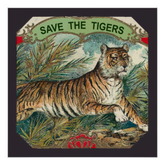 Save The Tigers Poster