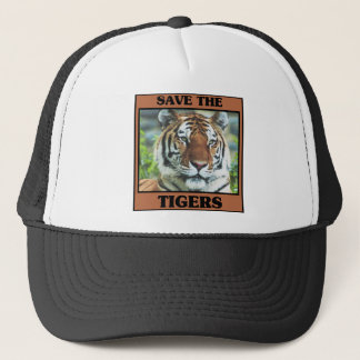 Save the Tigers Trucker Hat