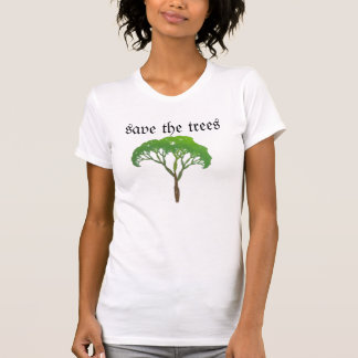 save the trees tank tops