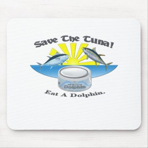 Save The Tuna! Mousepads