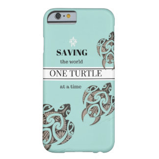 Save the Turtle iPhone Case