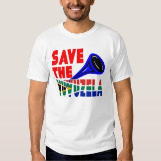 Save The Vuvuzela Tee Shirts