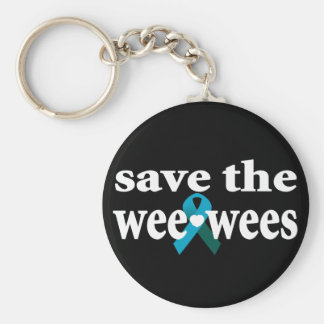 Save the Wee-wees Keychain