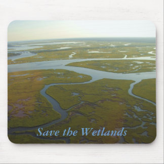 Save the Wetlands Mousepad