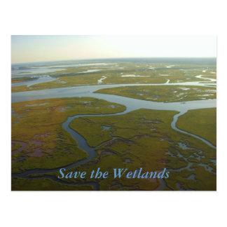 Save the Wetlands Postcard