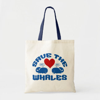 SAVE THE WHALES bag - choose style & color