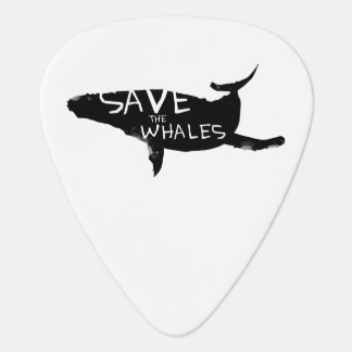 Save The Whales Guitar Pick