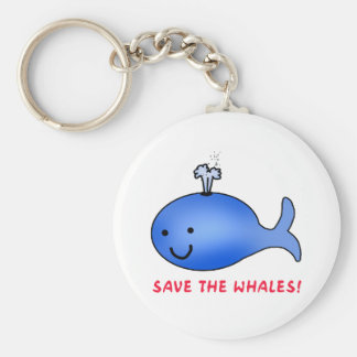 Save the Whales! Key Ring