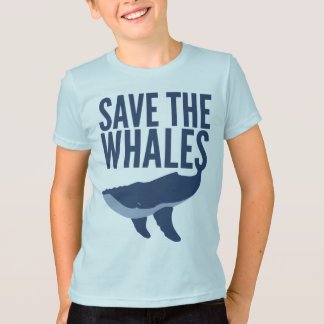 Save the Whales (Kids) T-Shirt