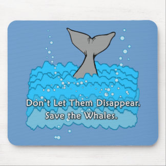 Save the Whales Products Mouse Pad