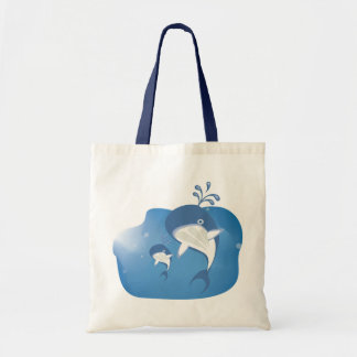 Save the Whales Tote Bag