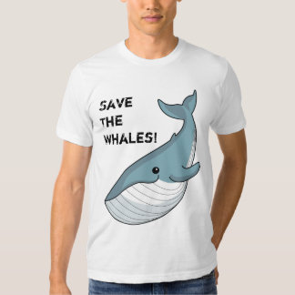 Save The Whales! Tshirt