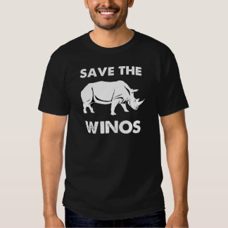 Save the Winos with Rhinoceros Shirt