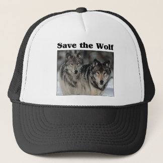 Save the Wolf Trucker Hat