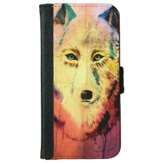 Save the Wolves from Being Killed iPhone 6 Wallet Case