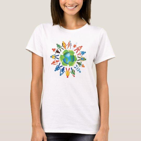 Save The World Enviornmental Design t-shirt