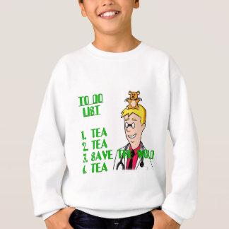 Save The World With Tea To Do List Sweatshirt