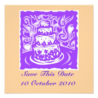 Save This Date Wedding Card Announcements