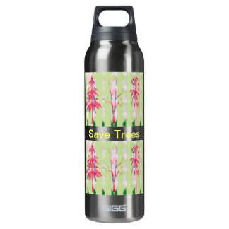Save Trees 16 Oz Insulated SIGG Thermos Water Bottle