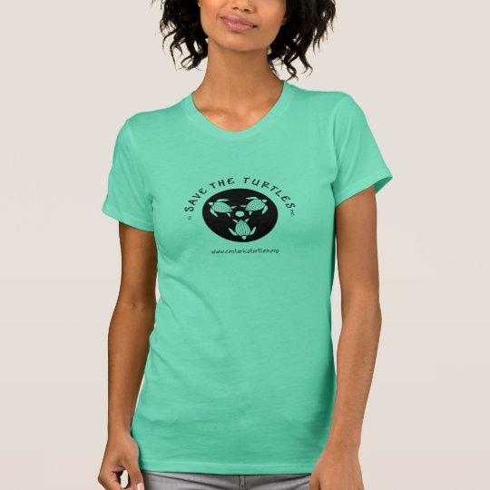 Save Turtles Logo T-Shirt