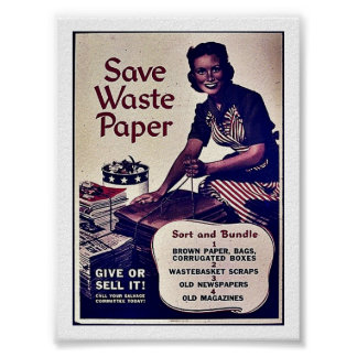 Save Waste Paper Print