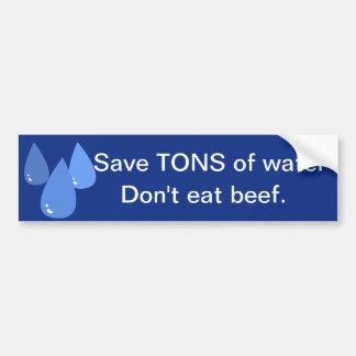 Save Water Bumper Sticker