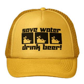 Save Water Drink Beer! Cap