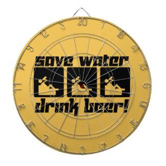 Save Water Drink Beer! Dartboard