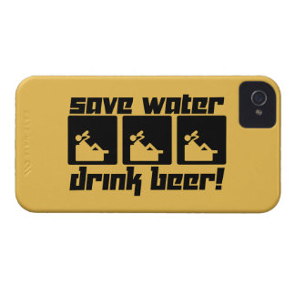 Save Water Drink Beer! iPhone 4 Case-Mate Case