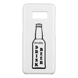 Save Water Drink Beer Samsung Galaxy S8 Case