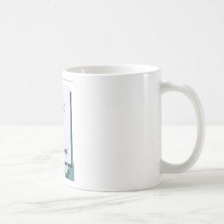 save yourself basic white mug