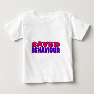Saved Behaviour Red-Blue Baby T-Shirt