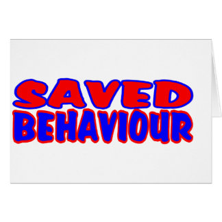 Saved Behaviour Red-Blue Card