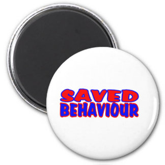 Saved Behaviour Red-Blue Magnet