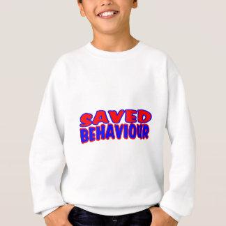 Saved Behaviour Red-Blue Sweatshirt