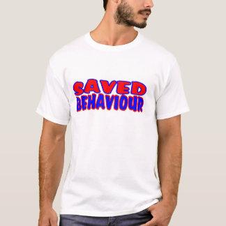 Saved Behaviour Red-Blue T-Shirt