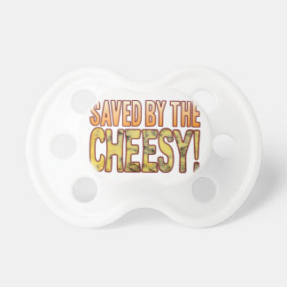 Saved By Blue Cheesy Baby Pacifiers