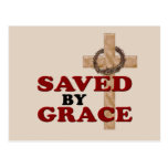 SAVED BY GRACE POSTCARD