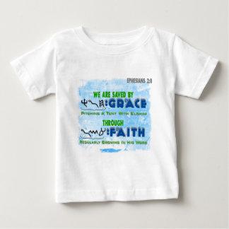 Saved By Grace Through Faith T Shirts