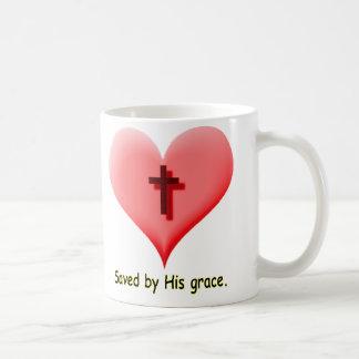Saved by His Grace Coffee Mugs