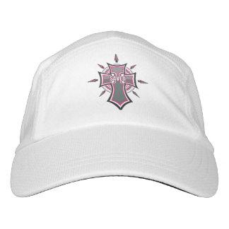 SAVED Christian Pink Cross Hat