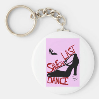savethelastdance basic round button key ring
