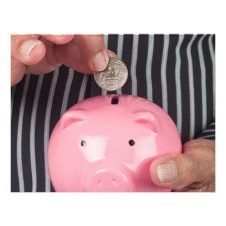 Saving for retirement flyers