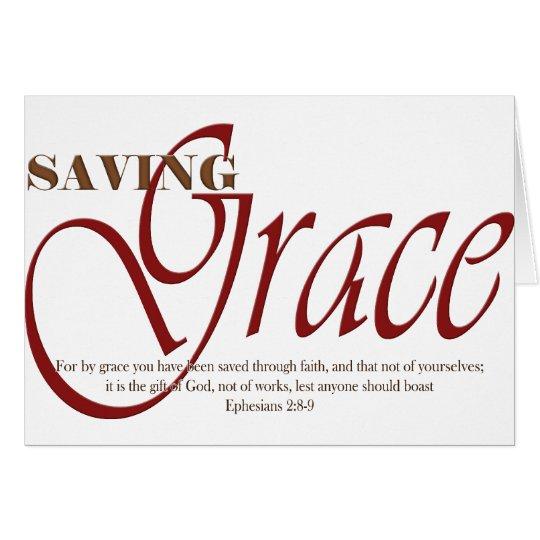 Saving Grace Card
