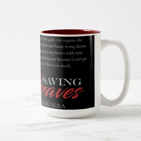 Saving Graves by Drew Sera - 15 oz. Mug - Brooding