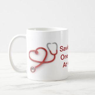 Saving Lives Nurse Mug
