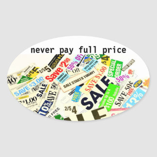 Saving Money Couponing Sticker